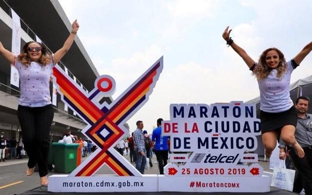 Metro dará servicio gratis por Maratón de la Ciudad de México - Foto de @MaratonCDMX