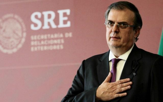 Ebrard coincide con Senado en rechazo de México como tercer país seguro - Foto de Notimex