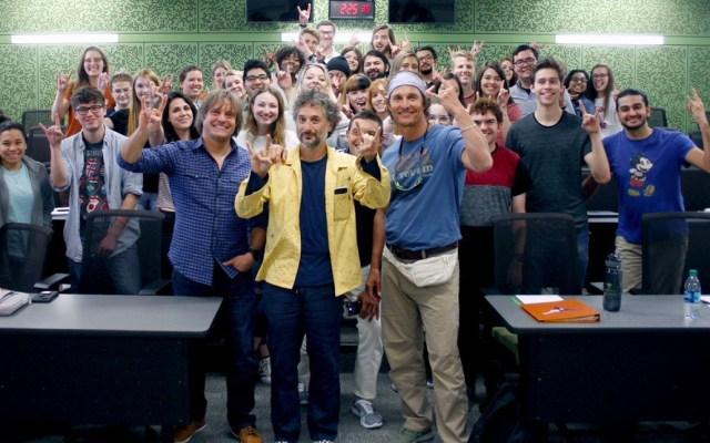 Matthew McConaughey será profesor de la Universidad de Texas - Matthew McConaughey
