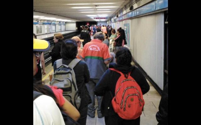 Muere atropellado jefe de estación en Metro San Cosme - Metro San Cosme Muerto vías