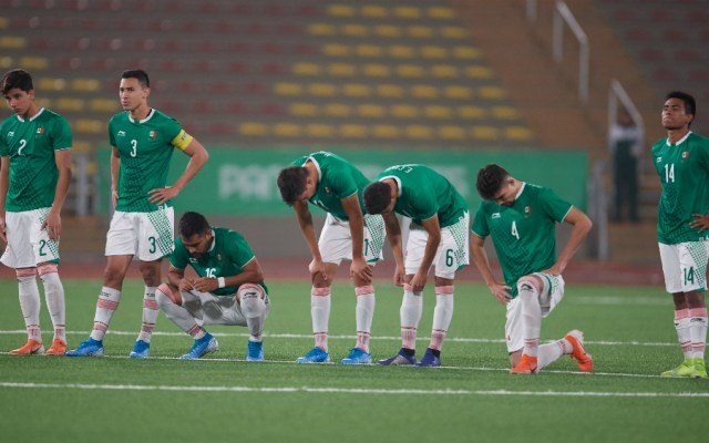 Fracaso de México en el futbol varonil de Lima 2019 - Foto de Mexsport