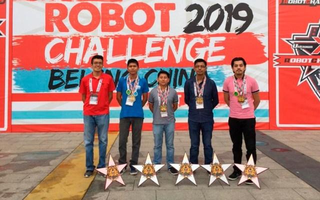Mexicanos ganan cinco medallas en competencia de robótica en China - mexico robotica china