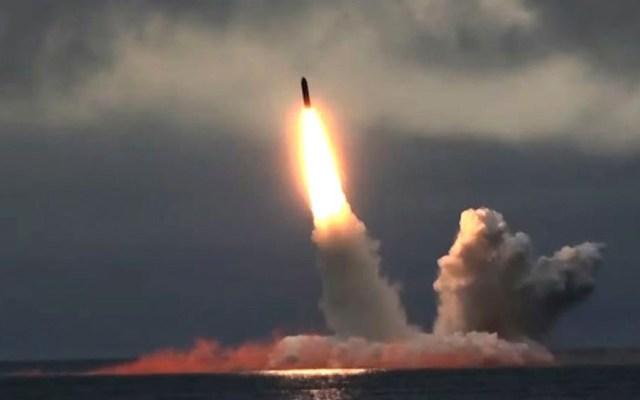 Rusia lanza misiles balísticos en respuesta a Estados Unidos - Foto de EFE / RUSSIAN DEFENCE MINISTRY PRESS