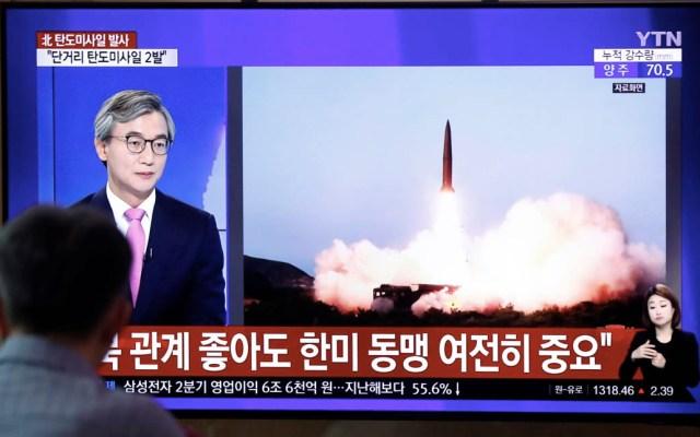Francia, Reino Unido y Alemania condenan prueba de misiles de Corea del Norte - Misiles pruebas Corea del Norte