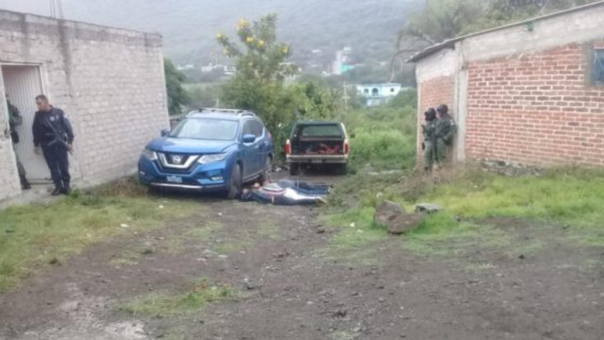 muere elemento de la guardia nacional en enfrentamiento en guanajuato