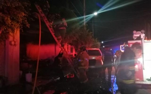 Muere familia al incendiarse su vivienda en SLP - muere familia al incendiarse su vivienda en slp