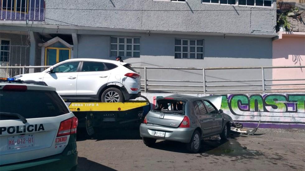 Muere hombre al chocar en la autopista México-Puebla - muerte hombre choque autopista méxico-puebla