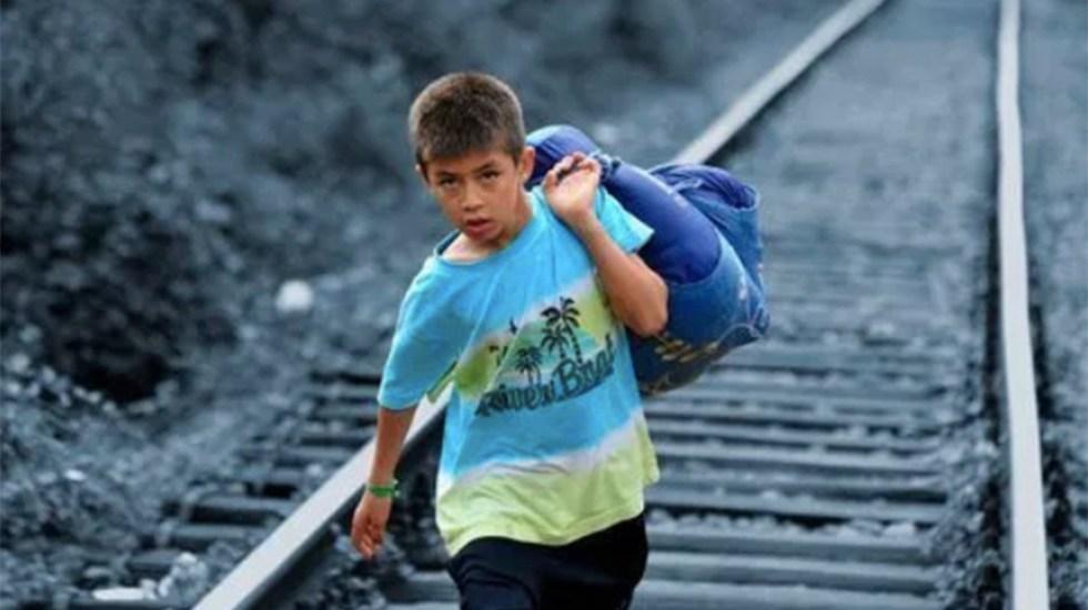 Juez federal vuelve a bloquear restricciones al asilo aprobadas por Trump - niños migrantes casa del migrante saltillo sre