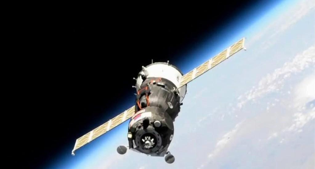 """Soyuz con androide """"Fiódor"""" falla primer intento de acoplamiento a EEI - nave"""