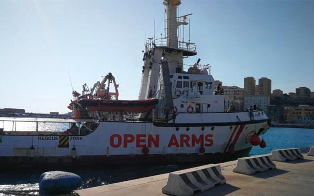 Open Arms subsanará anomalías para poder movilizar embarcación de Italia - Open Arms