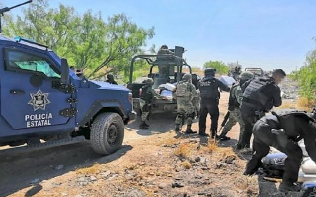 Decomisan 250 kilos de mariguana cerca del Río Bravo - Operativo Policía Estatal de Tamaulipas y Sedena. Foto de Tamaulipas al Día