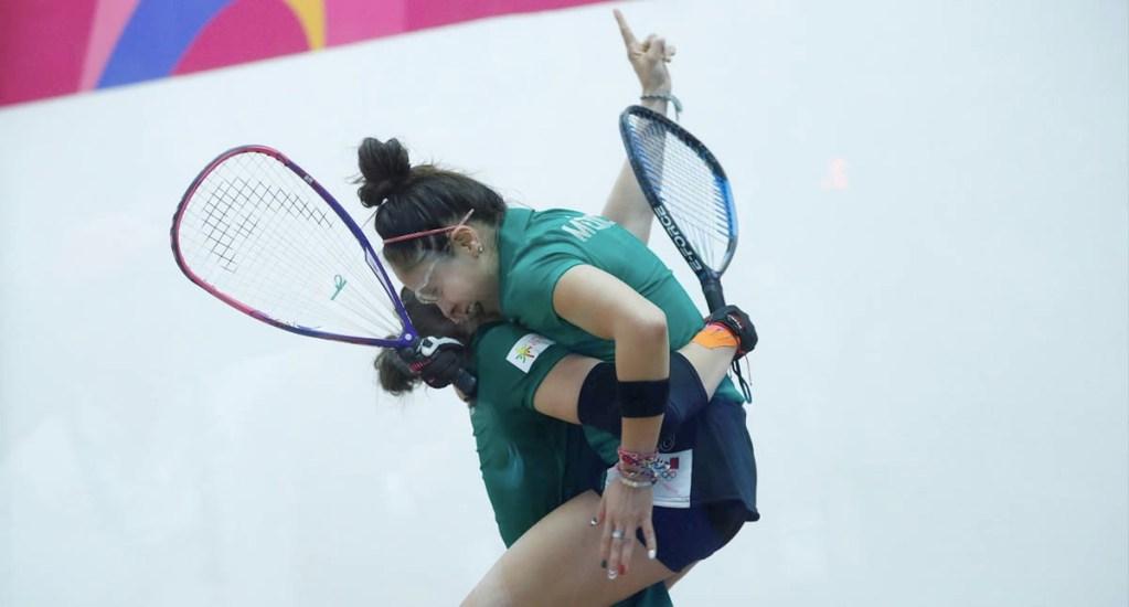 Longoria y Salas se llevan el oro en dobles de ráquetbol en Lima 2019 - Paola Longoria México Lima 2019 juegos panamericanos