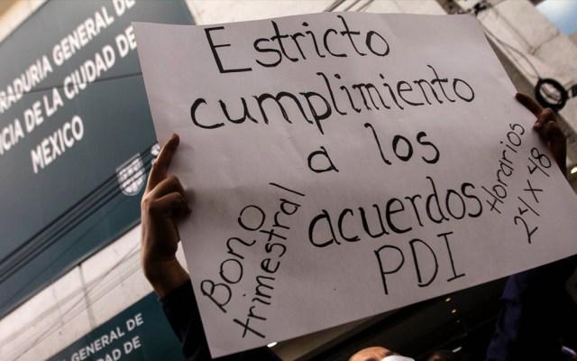 PGJ capitalina instalará mesa de diálogo con Policía de Investigación - PGJ Ciudad de México Procuraduría General de Justicia