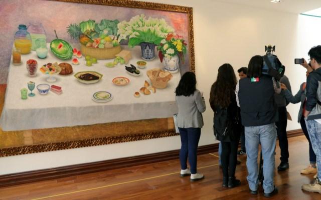 Exhiben en Los Pinos obras encargadas por Carlos Salinas de Gortari - Foto de EFE