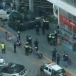 #Video Matan a policía durante asalto a cuentabiente en Espacio Interlomas