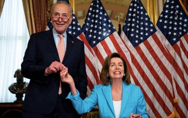Senado de Estados Unidos aprueba proyecto de presupuesto - Presupuesto Estados Unidos Nancy Pelosi Chuck Schumer