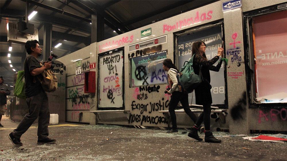 protestas metrobus insurgentes