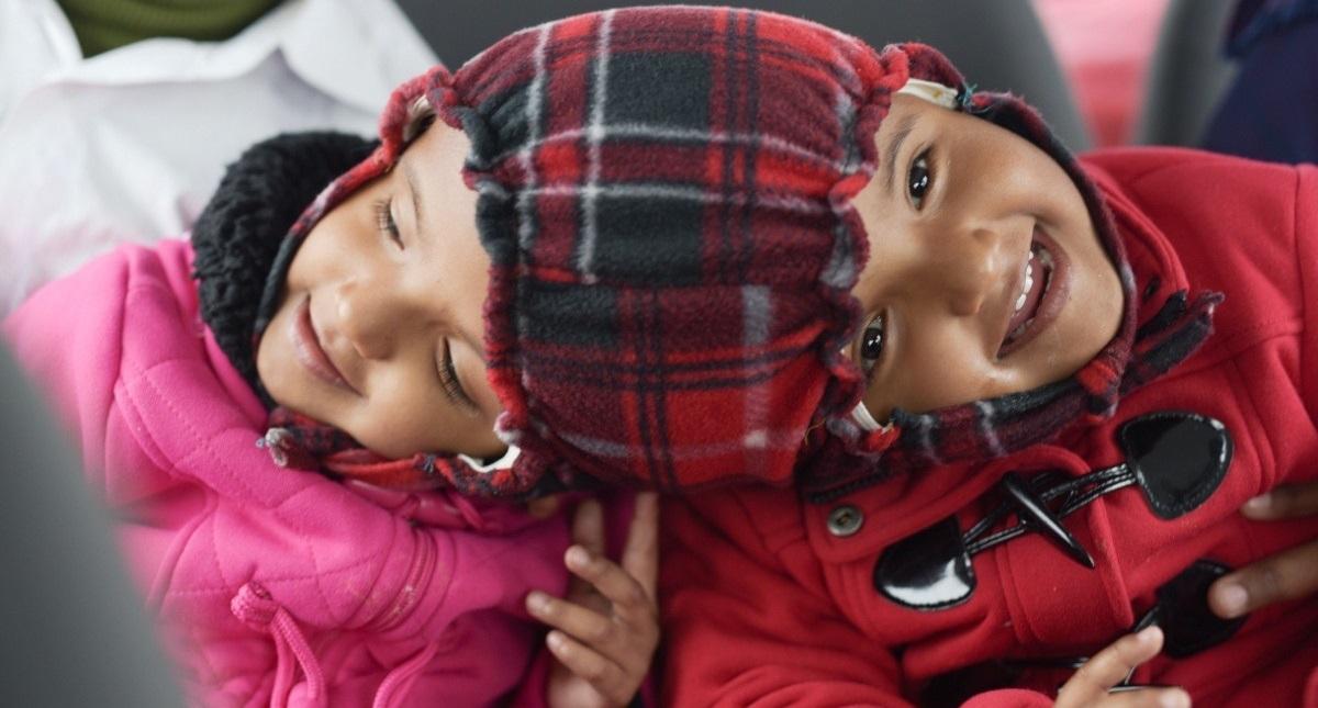 Rabeya y Rukiya. Foto de ADPF