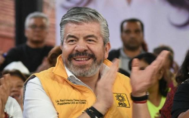 Raúl Flores se separa del PRD - Raúl Flores. Foto de @Raulflorescoy