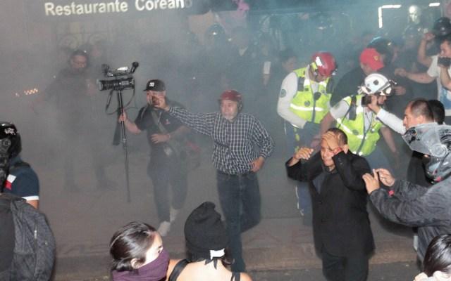 Sheinbaum pide intensificar investigaciones contra agresores de periodistas - Foto de Notimex