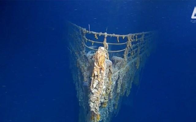 Fotografían los restos del Titanic por primera vez en 14 años - Foto de Atlantic Productions