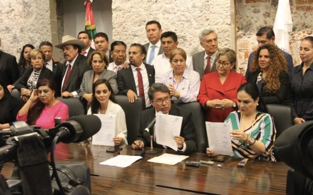 Arbitrario y desmedido fallo en Morena: Monreal - Foto de Senadores Morena
