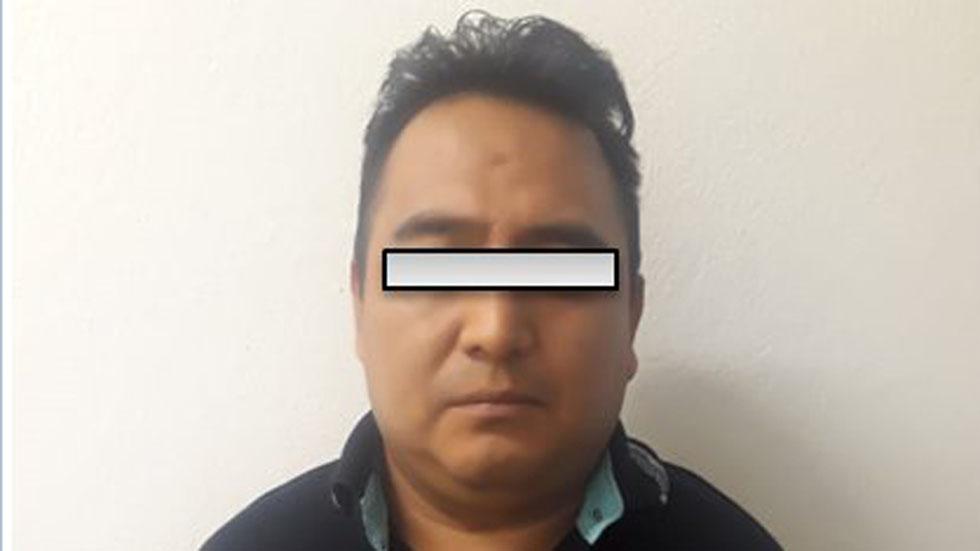 Detienen a exsíndico por homicidio de alcaldesa de Mixtla - Ricardo Pérez Marcos, exsíndico de Mixtla. Foto de FGE Veracruz