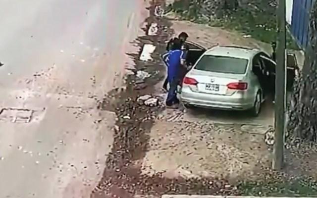 #Video Roban automóvil en Acolman - Captura de pantalla