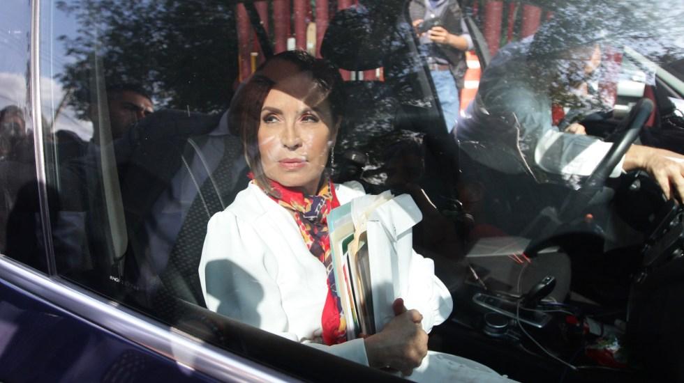 Ordenan reponer proceso a Rosario Robles; podría quedar en libertad - Rosario Robles. Foto de Notimex- Guillermo Granados.