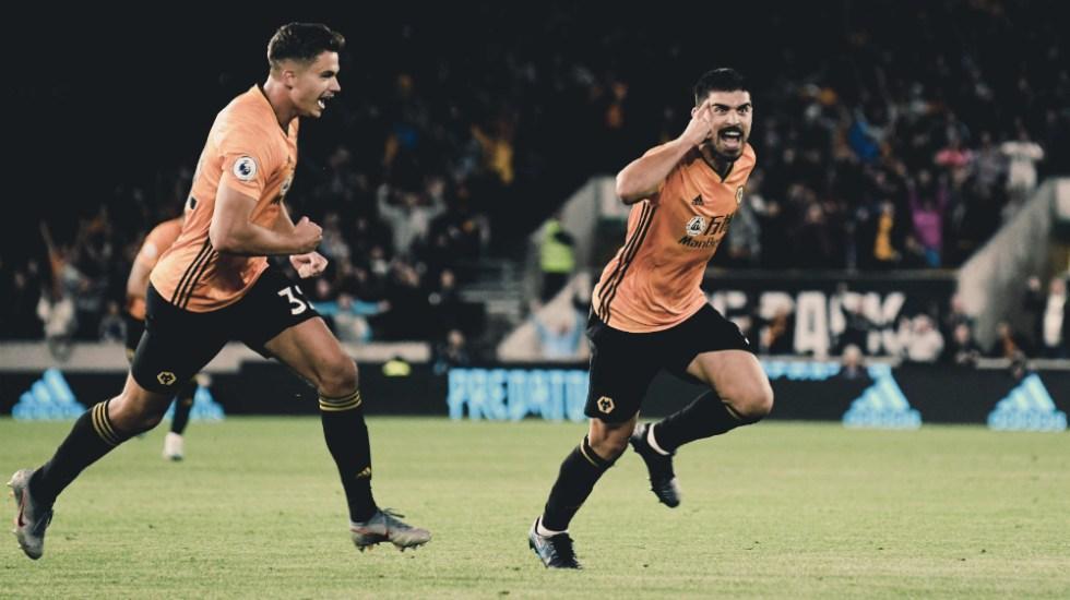 Wolverhampton le arrancó el empate al Manchester United - Foto de @Wolves