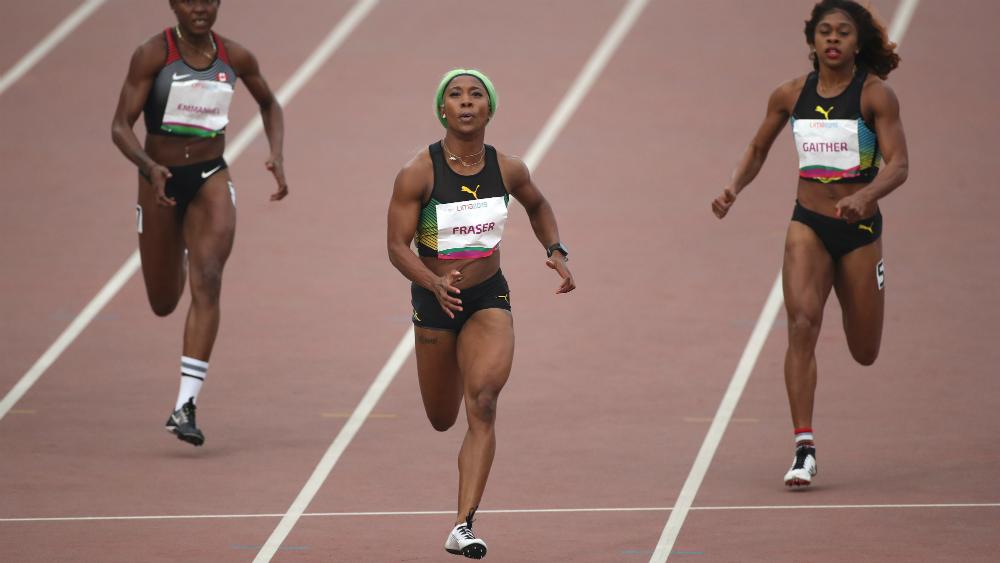 Fraser-Pryce bate en los 200 metros un récord panamericano de 40 años - Foto de EFE