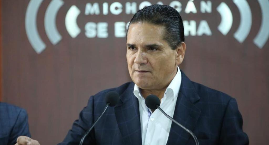 Silvano Aureoles acusa a subsecretario de Gobernación de dar dinero a delincuentes. Noticias en tiempo real