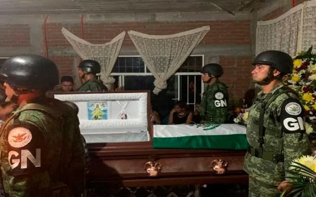 SSPC niega abandono a familia de teniente de Guardia Nacional abatido - teniente guardia nacional guanajuato