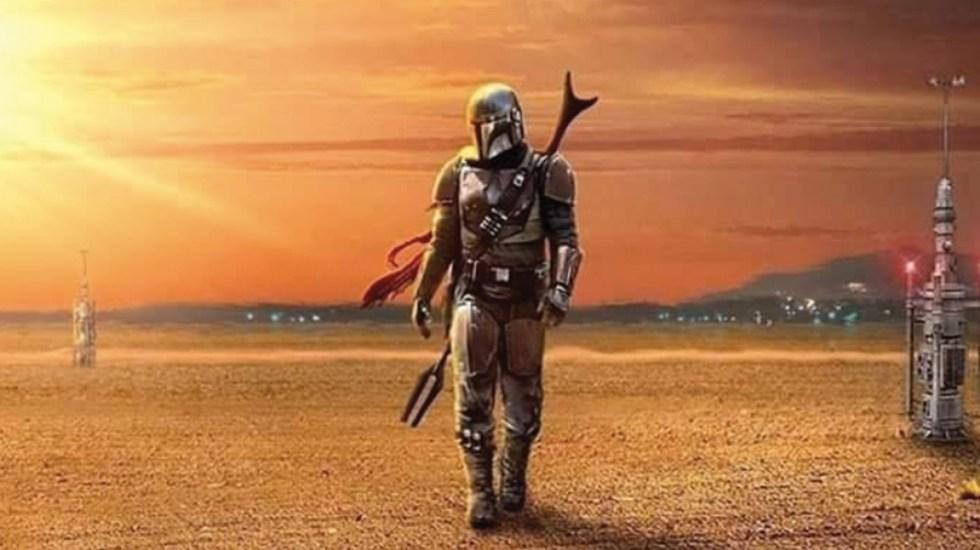 Estrenan póster de 'The Mandalorian' - Foto de Twitter Star Wars