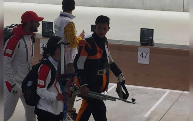 Edson Ramírezobtiene plata en prueba 10 metros de rifle de aire - Edson Ramírez