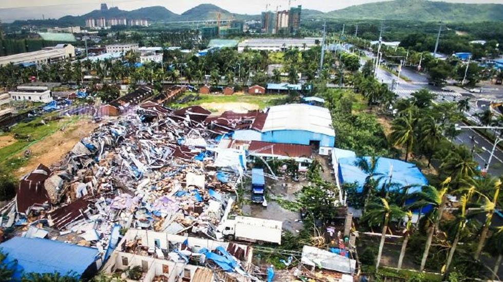 Tornado mata a ocho personas en China - Tornado China 8 muertos