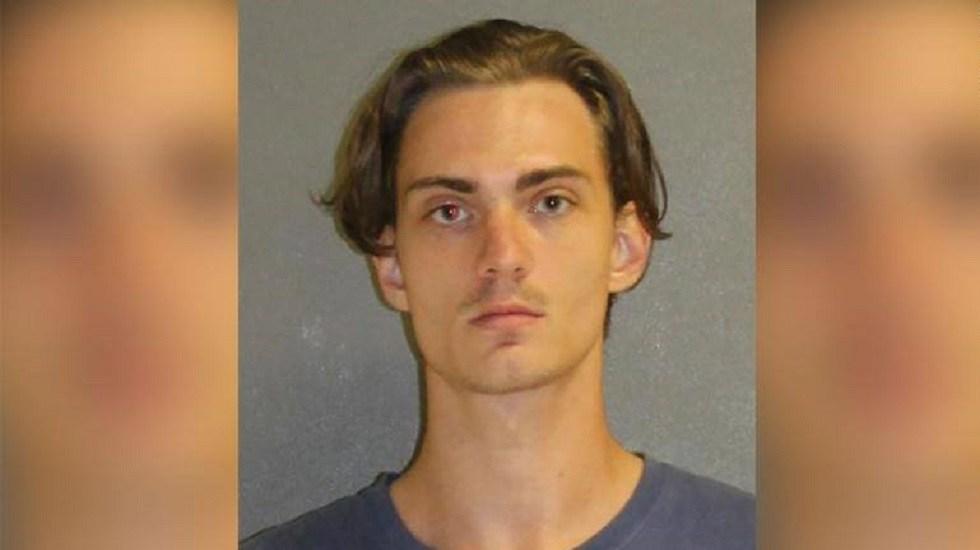 Arrestan a joven que planeaba récord mundial de muertes con tiroteo - Tristan Scott Wix. Foto de @VolusiaSheriff