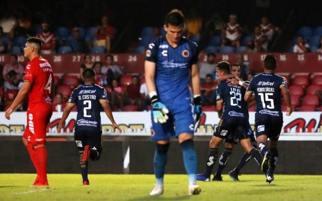 El Atlético San Luis venció 2-1 a los Tiburones de Veracruz que llegaron a 32 partidos sin ganar y empataron un récord impuesto entre 2007 y 2008 por el Derby County de la Premier League - Foto de Mexsport