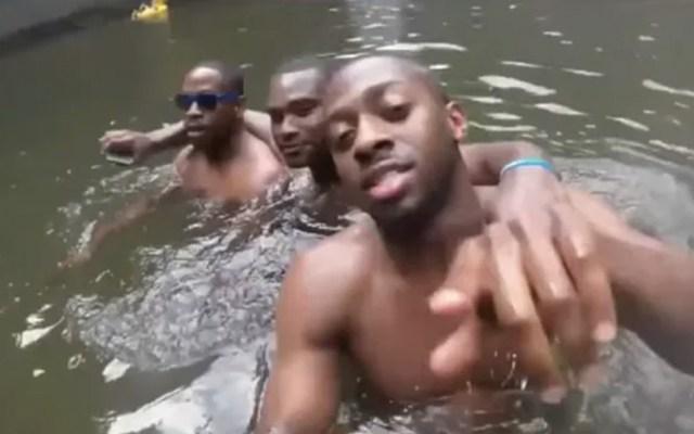 Youtuber encuentra GoPro con últimos momentos de joven ahogado - Captura de pantalla