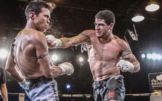 Intenta robar a peleador de muay thai y termina con fractura en el cráneo - Youssef Boughanem muay thai peleador Bélgica