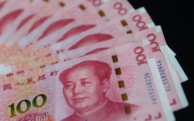 China deja caer el yuan a mínimos desde 2008 - Yuan
