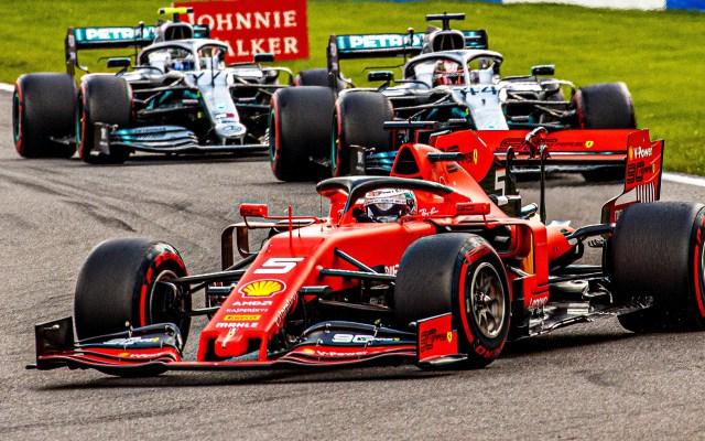 Reflejos del GP de Bélgica 2019 - Foto de EFE.