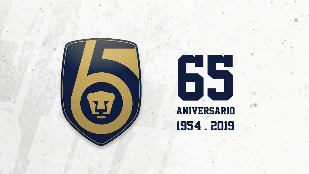 Pumas celebran su 65 aniversario- 65 años pumas unam