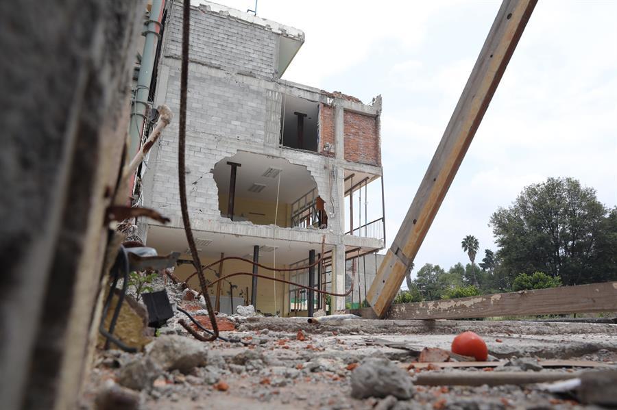 Colegio Rébsamen sismo