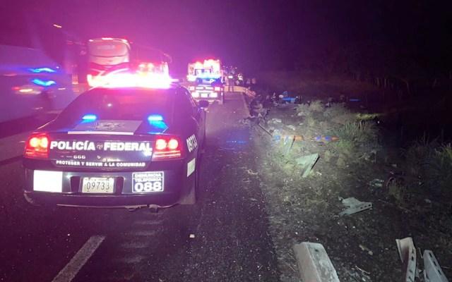 Volcadura de autobús en Veracruz deja tres muertos y 26 heridos - volcadura carretera veracruz