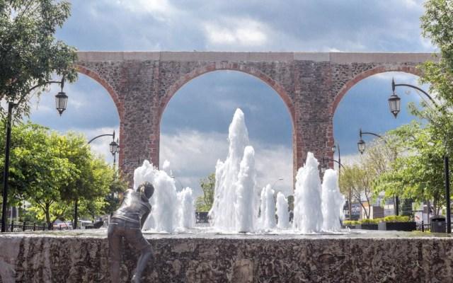Construcción de centro comercial no pone en riesgo al Acueducto de Querétaro: INAH - Acueducto de Querétaro arcos