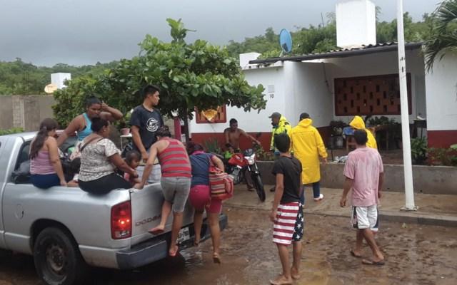 Al menos 268 viviendas afectadas por lluvias en Jalisco - Foto de Protección Civil Jalisco