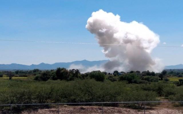 Al menos dos muertos por explosión de polvorín en Hidalgo - al menos dos muertos por explosión de polvorín en Hidalgo