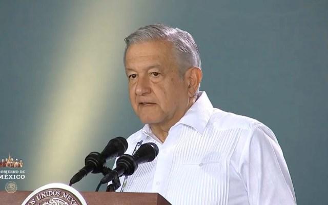 Aviones interrumpen conferencia de López Obrador en Mérida - amlo Mérida