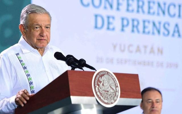 López Obrador llama a empresarios a concluir hospitales en Yucatán - Andrés Manuel López Obrador AMLO Yucatán conferencia